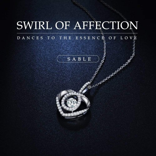 Sable Pendant Key Necklace & Gift box