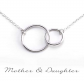 Gracefully Made Jewelry Circles Necklace
