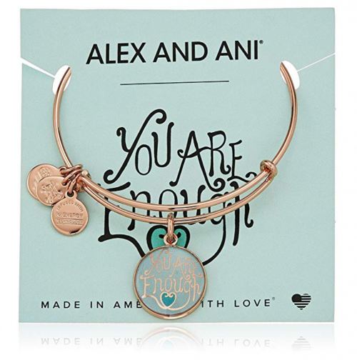 Best gifts for moms - Alex and Ani 'Words are Powerful You are Enough' Bangle