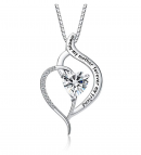 """FANCYCD """"Always My Mother Forever My Friend"""" Necklace"""