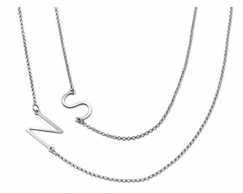 MyNameNecklace Personalized Sideways Necklace