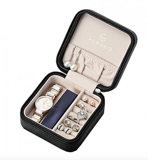 Vlando Small Girls Travel Jewelry Box
