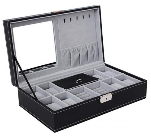 Storage Case with Lock and Mirror UJWB41B