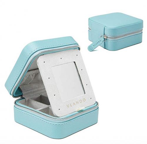 Vlando Travel Jewelry Tray Box Organizer
