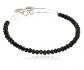Alex and Ani Brilliance Bead Eclipse Black/Shinny Bracelet