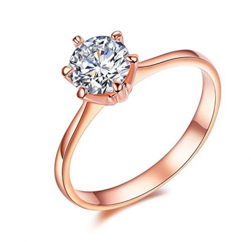 SPILOVE Serend Rose Gold Wedding Rings