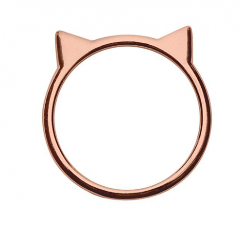 Silver Phantom Jewelry Cat Ear Ring in Sterling Silver