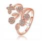 Orris Princess of Ocean Blue Crystal Free Ring