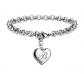 Sannyra Initial Charm Bracelet