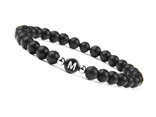 OOD.designs.GER Black Onyx Handmade Bracelet