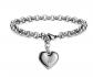 Monily Heart Alphabet Bracelet