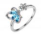 Aurora Tears Butterfly Ring