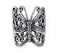 MIMI Sterling Silver Victorian Butterfly Ring