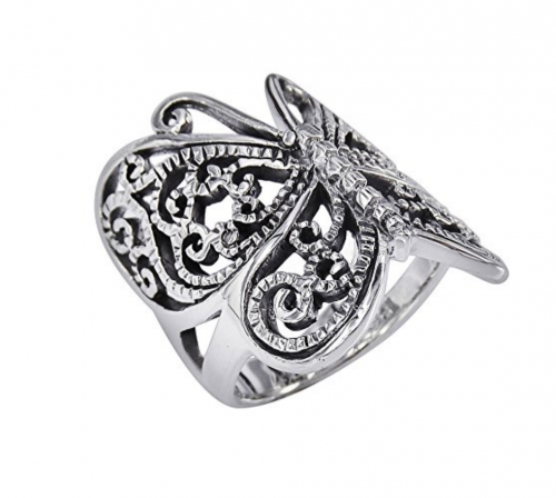 Victorian Butterfly Ring