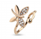 Amelia Fashion Toe/Mid Butterfly Ring
