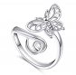 Silver mountain Open Animal Ring