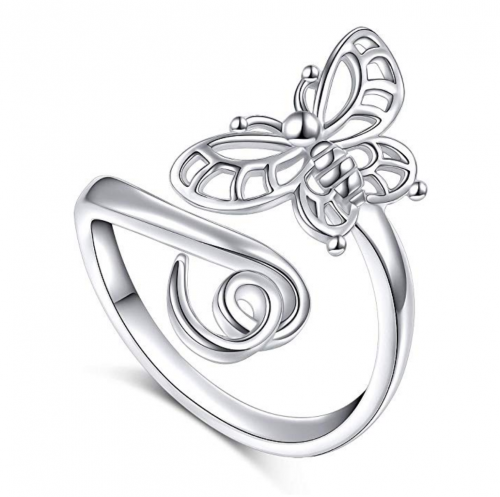 SILVER MOUNTAIN 925 Sterling Silver Open Animal Ring