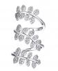 U7 Leaf Long Ring