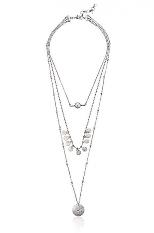 Lucky Brand Women's Lucky Layer Pearl Necklace