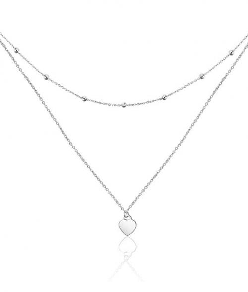 PEIMKO Dainty Layered Choker Necklace