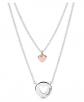 PANDORA Layered Heart Necklace
