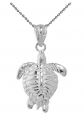 Sea Life Collection Honu Charm Necklace