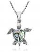 AeraVida Abalone Shell Necklace
