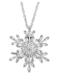 Finecraft Snowflake Necklace
