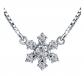PIRATESHIP Snowflake Pendant Necklace