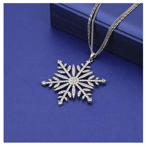 SIYWINA snowflake necklace