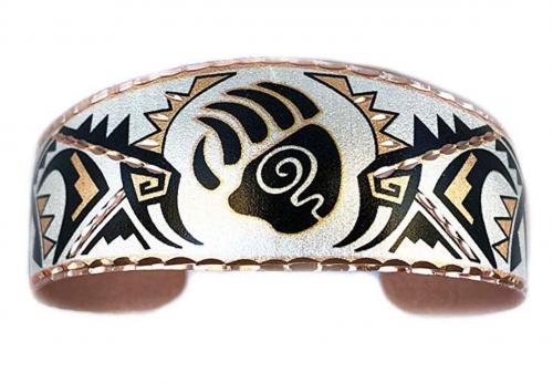 Copper & Stone Bracelet and Jewelry Store Bear Claw Apache Bracelet