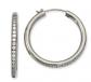 Black Bow Jewelry & Co. Titanium CZ Earrings