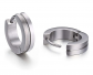TGNEL Titanium Small Circle Huggie Hoop Earrings