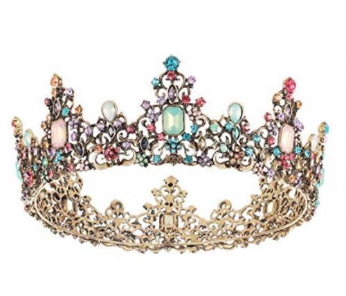 SNOWH Baroque Queen Tiara