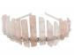 KOGOGO Quartz Crystal Mermaid Tiara Crown