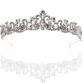 Della Bridal Tiara Rhinestones Crystal Crown