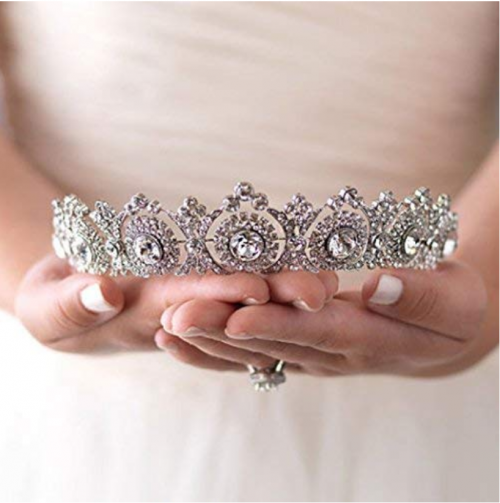 Aukmla Vintage Bridal Tiara