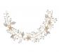 SWEETV Gold Bridal Headband