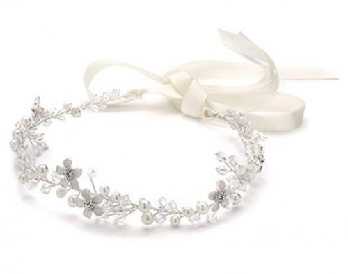 Crystal Bridal or Wedding Headband