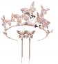 MoGist Butterfly Headband Earrings Set