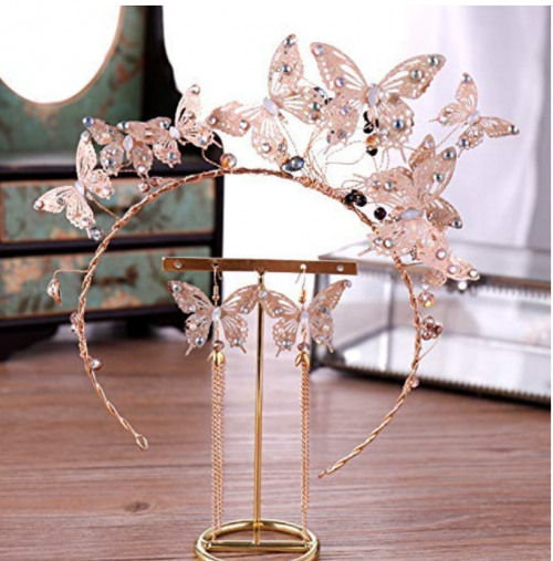 butterfly-themed tiara