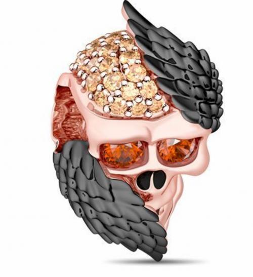 Halloween skull pendant