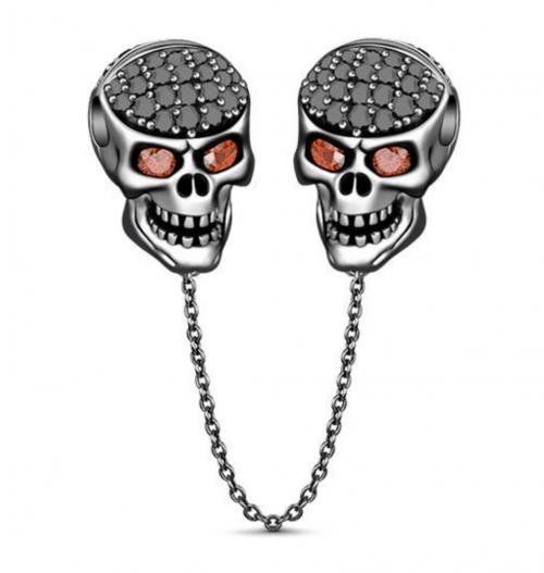 Jeulia skull safety chain