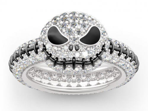 Jack Skellington ring