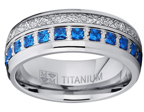 Metal masters and Co ring in titanium