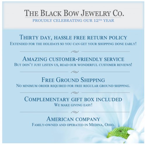 About The Black Bow Jewelry Co