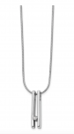 The Black Bow Jewelry Co. Double Bar Diamond Necklace