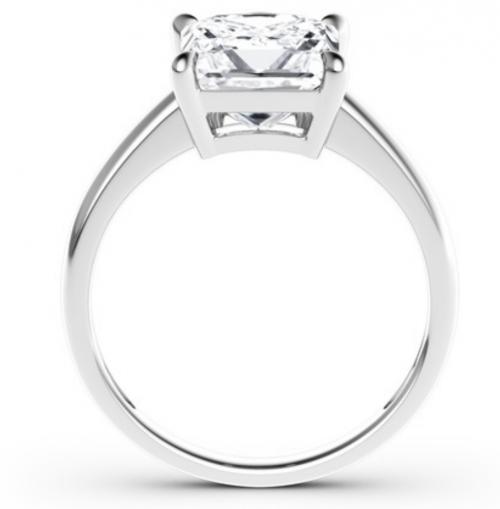 Jeulia Solitaire Moissanite Engagement Ring Profile