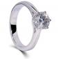 DovEggs Heart Arrows-Cut Moissanite Engagement Ring