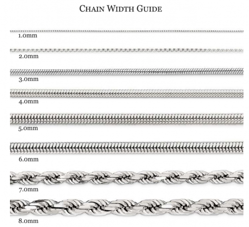 Black Bow Jewelry chain guide